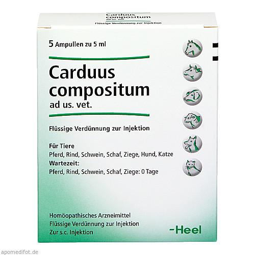 CARDUUS COMPOSITUM ad us.vet.Ampullen, 5X5 ML, Biologische Heilmittel Heel GmbH