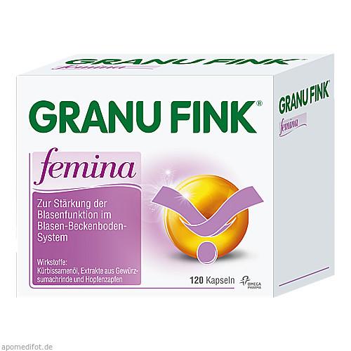 Granufink Femina Kapseln, 120 ST, Omega Pharma Deutschland GmbH