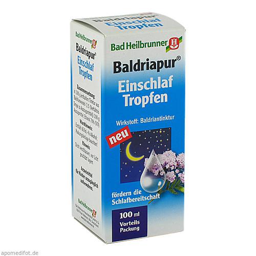 Bad Heilbrunner Baldriapur Einschlaf-Tropfen, 100 ML, Bad Heilbrunner Naturheilm. GmbH & Co. KG