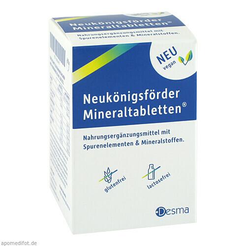 Neukönigsförder Mineraltabletten NE, 200 ST, Desma GmbH