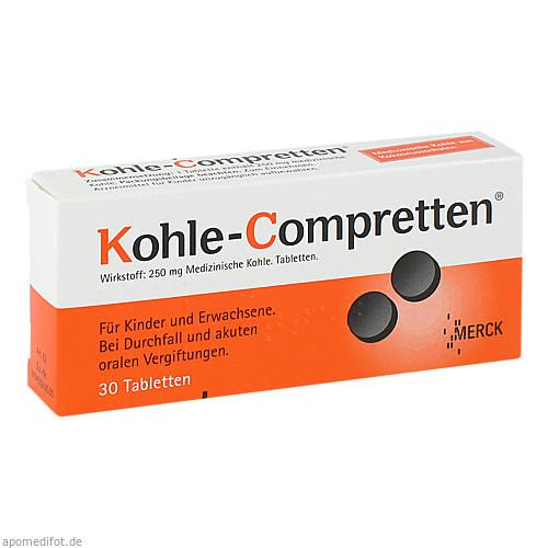 KOHLE COMPRETTEN, 30 ST, P&G Health Germany GmbH