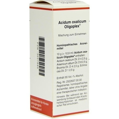 Acidum oxalicum Oligoplex, 50 ML, MEDA Pharma GmbH & Co.KG