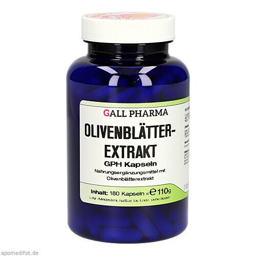 Olivenblätterextrakt GPH Kapseln, 180 ST, Hecht-Pharma GmbH