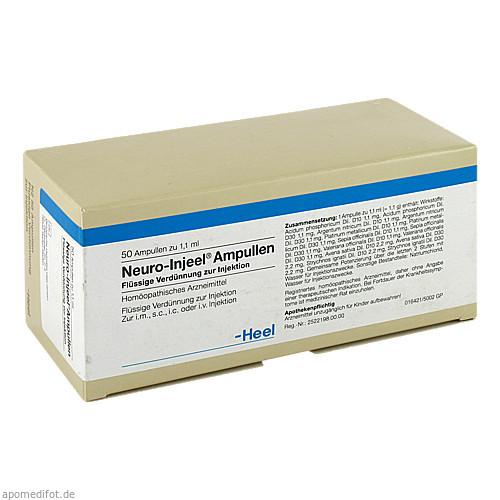 NEURO INJEEL, 50 ST, Biologische Heilmittel Heel GmbH