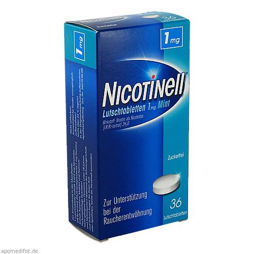 Nicotinell Lutschtabletten 1mg Mint, 36 ST, GlaxoSmithKline Consumer Healthcare