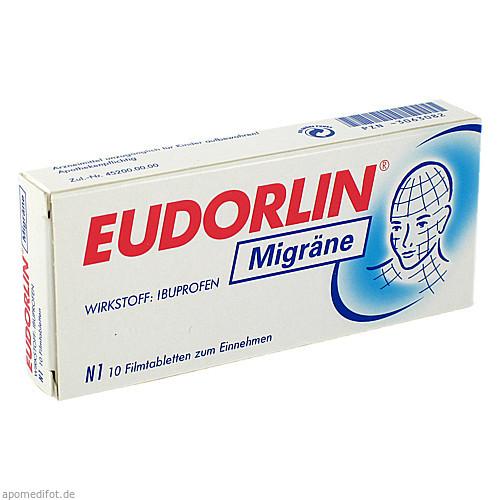 Eudorlin Migräne, 10 ST, Berlin-Chemie AG