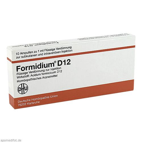FORMIDIUM D 12 Ampullen, 10X1 ML, DHU-Arzneimittel GmbH & Co. KG