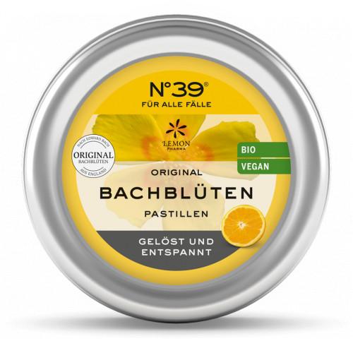 Bachblüten Notfall No. 39 Pastillen BIO, 45 G, Lemon Pharma GmbH & Co. KG
