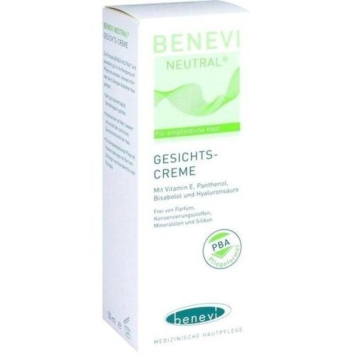Benevi Neutral Gesichts-Creme, 50 ML, Benevi Med GmbH & Co. KG