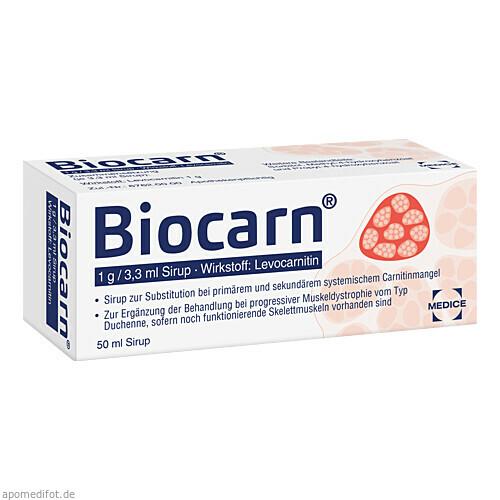 BIOCARN, 50 ML, Medice Arzneimittel Pütter GmbH & Co. KG