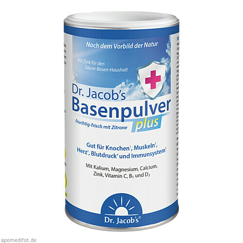 Basenpulver plus Dr.Jacob's, 300 G, Dr.Jacobs Medical GmbH
