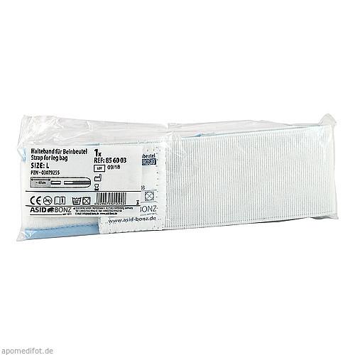 Halteband f. Urin-Beinbeutel waschbar Gr. L, 1 ST, Asid Bonz GmbH