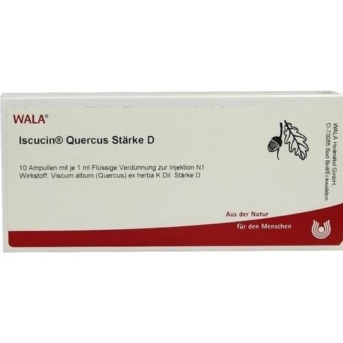 ISCUCIN QUERCUS STAERKE D, 10X1 ML, Wala Heilmittel GmbH