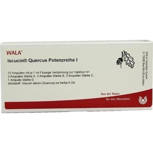 ISCUCIN QUERCUS PR I, 10X1 ML, Wala Heilmittel GmbH