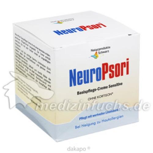NeuroPsori Basispflege Sensitive, 100 ML, Naturprodukte Schwarz