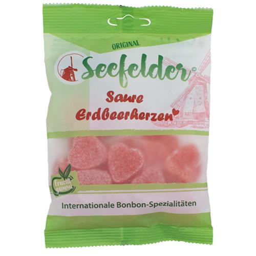 Seefelder Saure Erdbeerherzen KDA, 100 G, Kda Pharmavertrieb Arndt GmbH