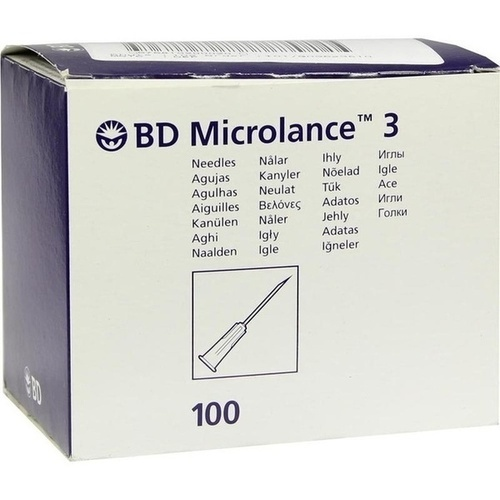 BD MICROLANCE 26G KAN 1/2, 100 ST, Becton Dickinson GmbH