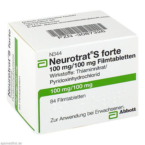 Neurotrat S forte, 84 ST, Mylan Healthcare GmbH
