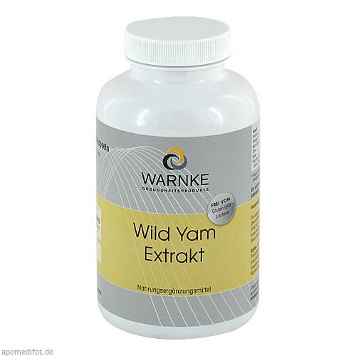 Wild Yam Extrakt, 250 ST, Warnke Vitalstoffe GmbH