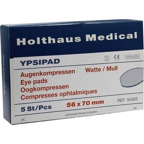 AUGEN STERIL YPSIPAD 56X70mm, 5 ST, Holthaus Medical GmbH & Co. KG