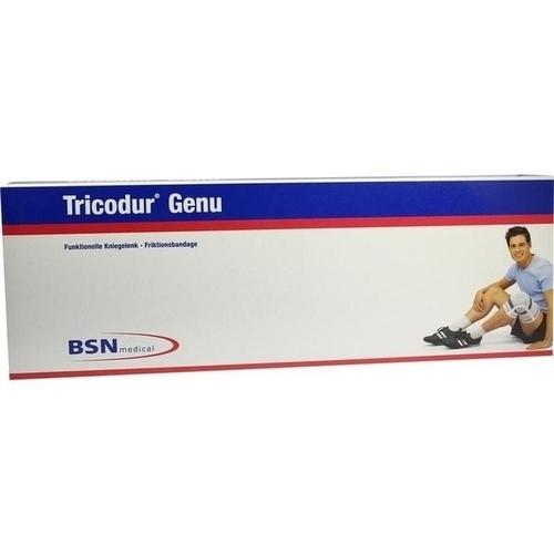 Tricodur Genu Bandage schwarz-blau Gr. M, 1 ST, Bsn Medical GmbH