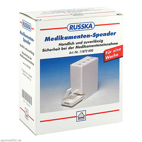Medikamenten-Spender mit 7 Tagesschachteln, 1 ST, Ludwig Bertram GmbH