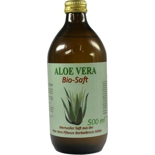 Bio Aloe Vera Saft plus Vitamin C Excl.i.d.Apothe, 500 ML, Eurovera Ltd. & Co. KG
