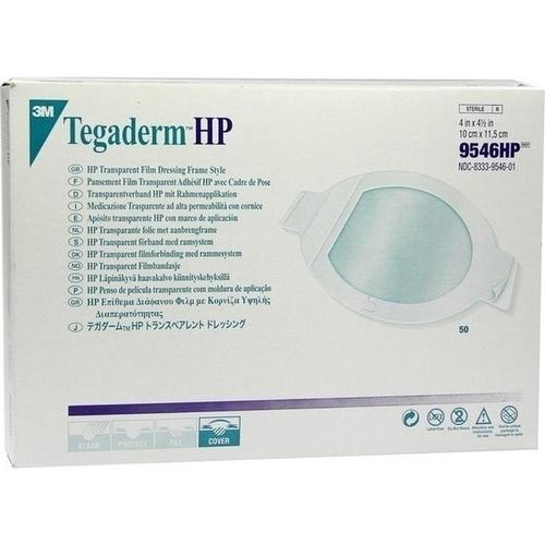 Tegaderm 3M Transparentverband oval 10.0x11.5cm, 50 ST, 3M Medica Zweigniederlassung der 3M Deutschland GmbH