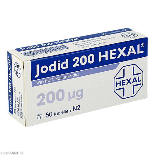 Jodid 200 Hexal, 50 ST, HEXAL AG