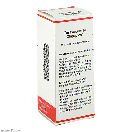 Taraxacum N Oligoplex, 50 ML, MEDA Pharma GmbH & Co.KG