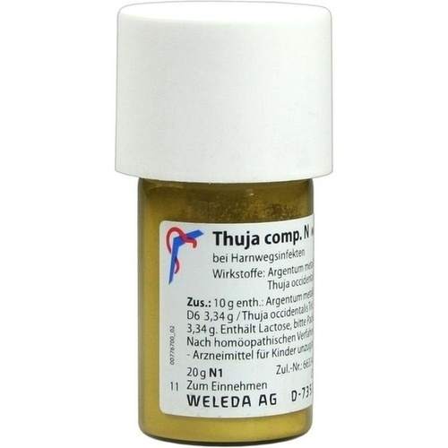 THUJA COMP N, 20 G, Weleda AG