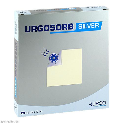 Urgosorb Silver 10x10cm, 10 ST, Urgo GmbH