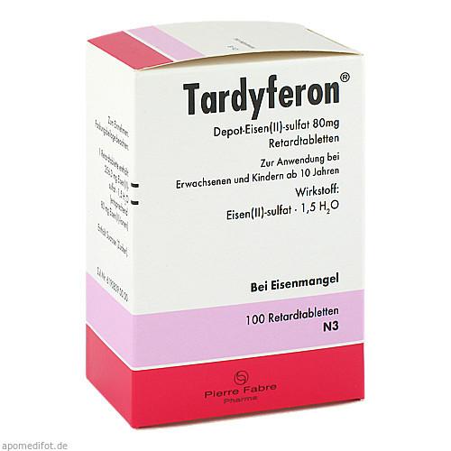 TARDYFERON, 100 ST, Pierre Fabre Pharma GmbH