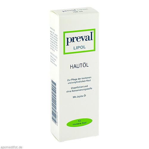 PREVAL LIPOL HAUTOEL, 100 ML, Preval Dermatica GmbH