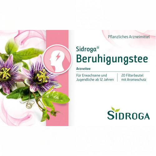 Sidroga Beruhigungstee, 20X2.0 G, Sidroga Gesellschaft Für Gesundheitsprodukte mbH