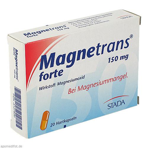 MAGNETRANS FORTE 150mg, 20 ST, STADA GmbH