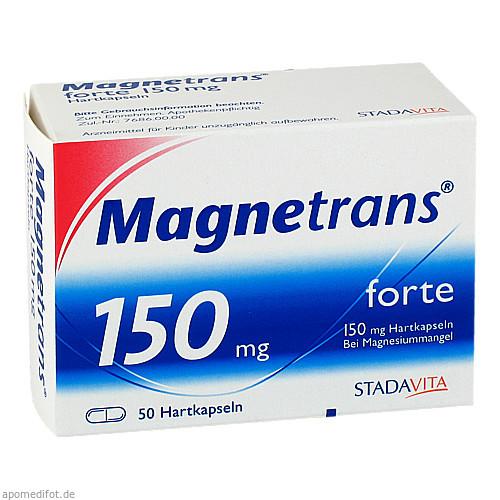 MAGNETRANS FORTE 150mg, 50 ST, STADA GmbH