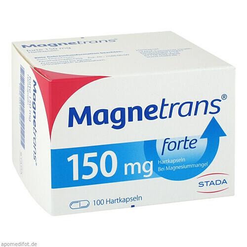 MAGNETRANS FORTE 150mg, 100 ST, STADA GmbH