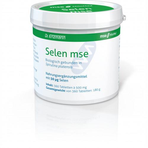 SELEN MSE 50ug, 360 ST, Mse Pharmazeutika GmbH