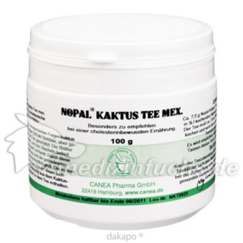 NOPAL Kaktus mex.Tee, 100 G, Pharma Peter GmbH