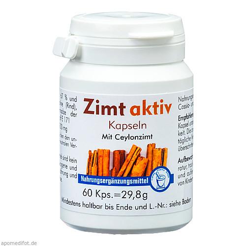 Zimt Aktiv Kapseln, 60 ST, Pharma-Peter GmbH