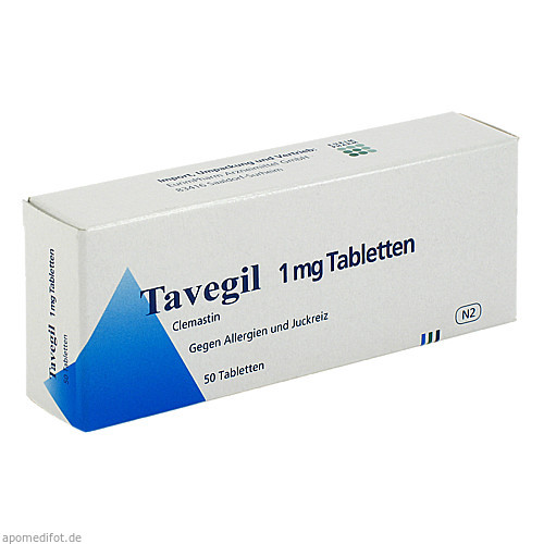 TAVEGIL, 50 ST, Eurimpharm Arzneimittel GmbH