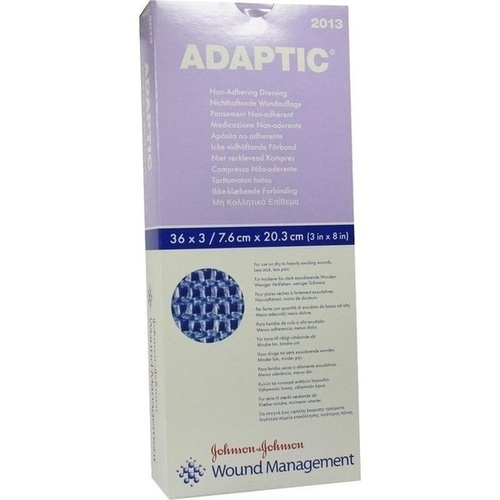 ADAPTIC 7.6X20.3CM 2013, 108 ST, Kci Medizinprodukte GmbH