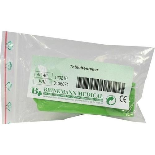 Tablettenteiler, 1 ST, Brinkmann Medical Ein Unternehmen der Dr. Junghans Medical GmbH