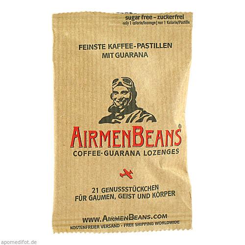 AirmenBeans feinste Kaffee Pastillen mit Guarana, 21 ST, AirmenBeans BRUTA