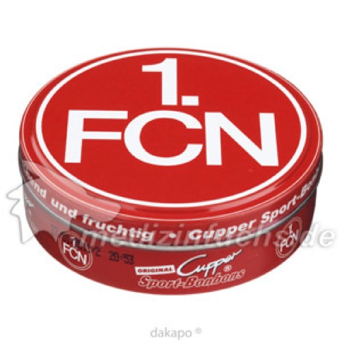 Cupper Sport-Bonbons 1.FC Nürnberg, 60 G, Kalfany Süße Werbung GmbH & Co. KG