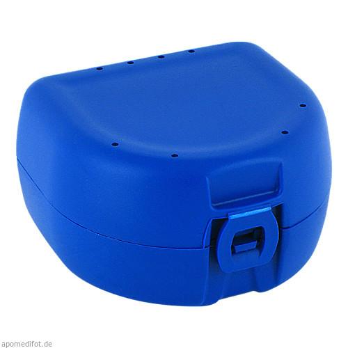 Prothesen-/Zahnspangenbox universal dunkelblau, 1 ST, Megadent Deflogrip Gerhard Reeg GmbH