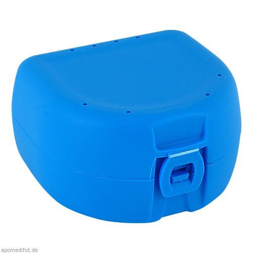 Prothesen-/Zahnspangenbox universal hellblau, 1 ST, Megadent Deflogrip Gerhard Reeg GmbH