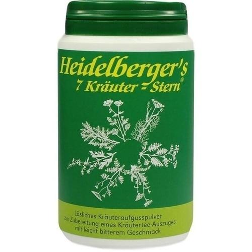 Heidelberger's 7 Kräuter Stern, 100 G, Gesundheitsversand A. Heine GmbH