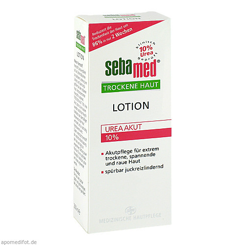 sebamed Trockene Haut 10% Urea Akut Lotion, 200 ML, Sebapharma GmbH & Co. KG